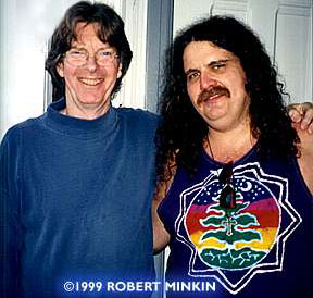 Phil and Woody - Used with permission, Photo © Bob Minkin